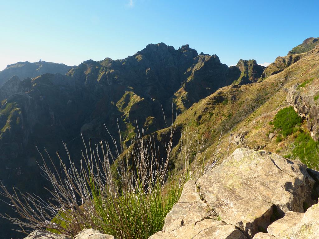 Ausblick auf das Hochgebirge Madeiras