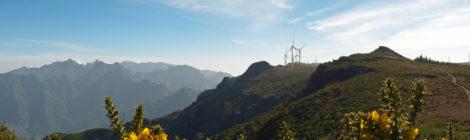 Ausblick auf Madeiras Hochgebirge