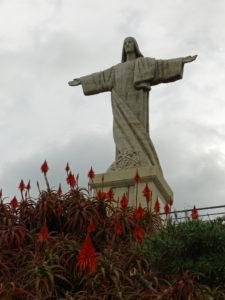 Cristo Rei Statue in Garajau, Madeira