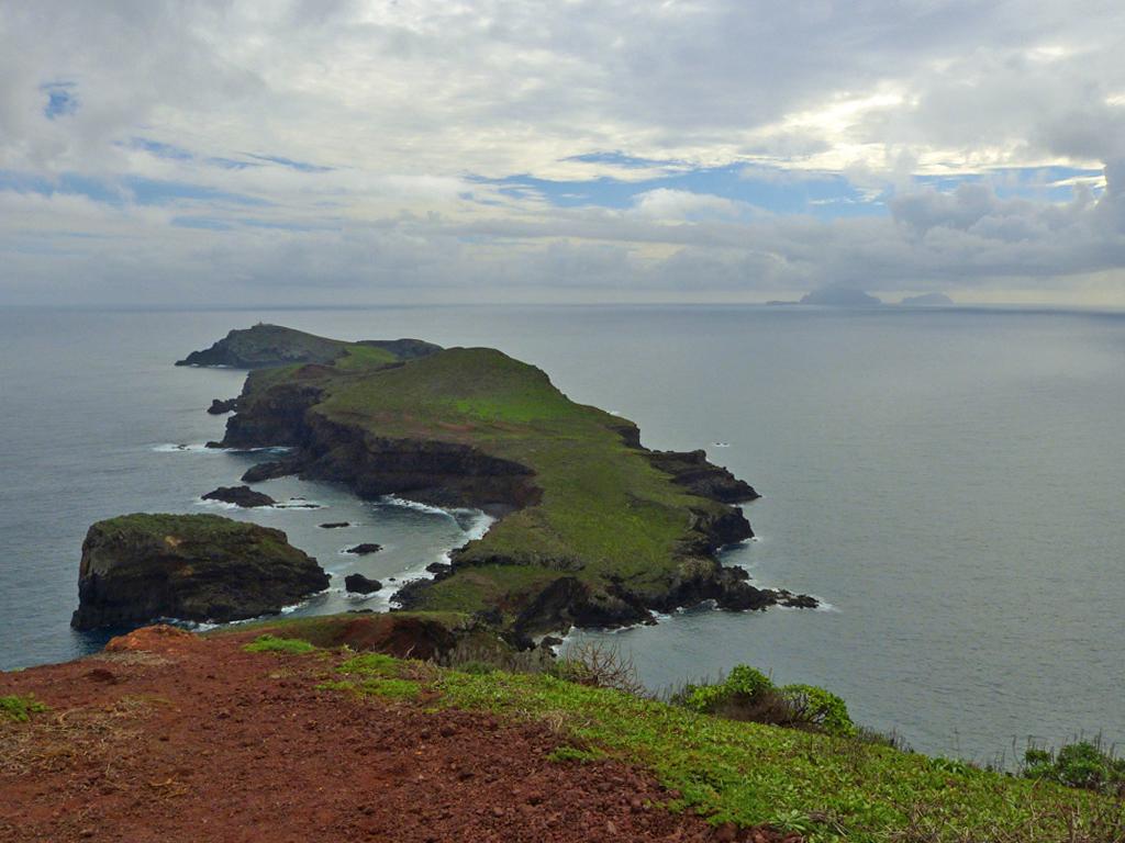 Ausblick von der Ostspitze Madeiras
