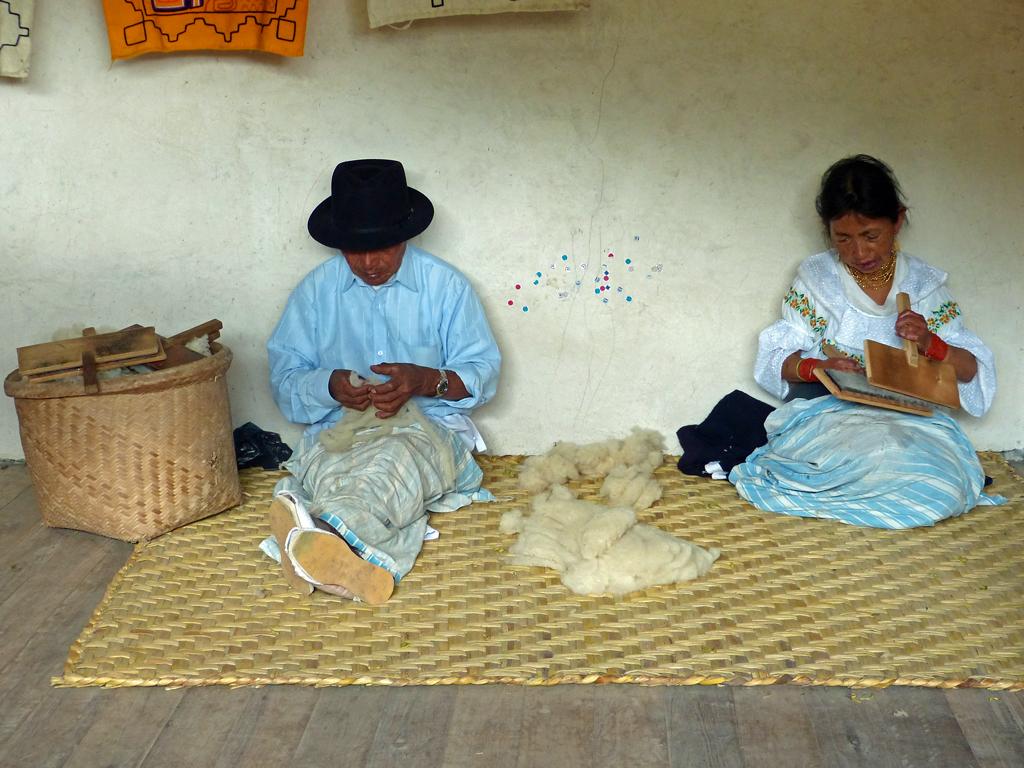 Herstellung von Wolle