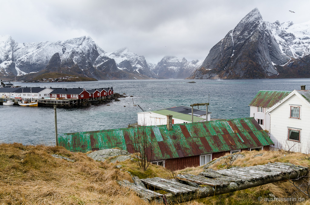 Eliassen Rorbuer in Hamnøy