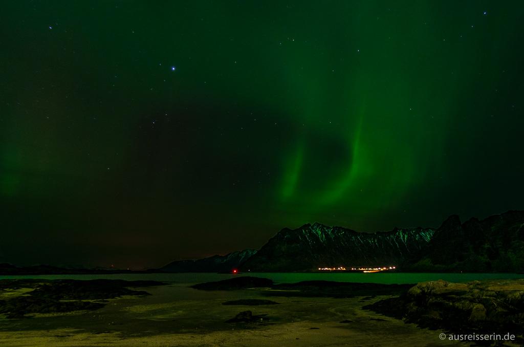 Nordlicht über Austvågøy