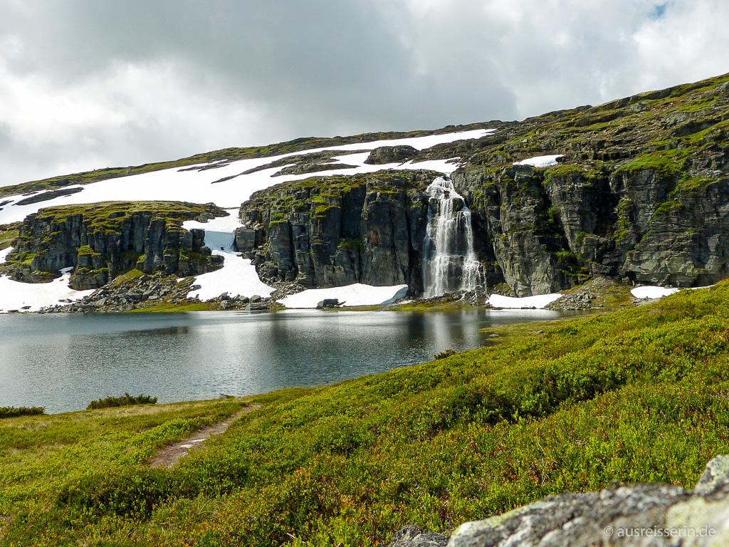 Wasserfall am Schneeweg
