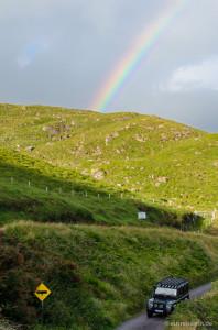 Nebenstraße im County Kerry, Irland