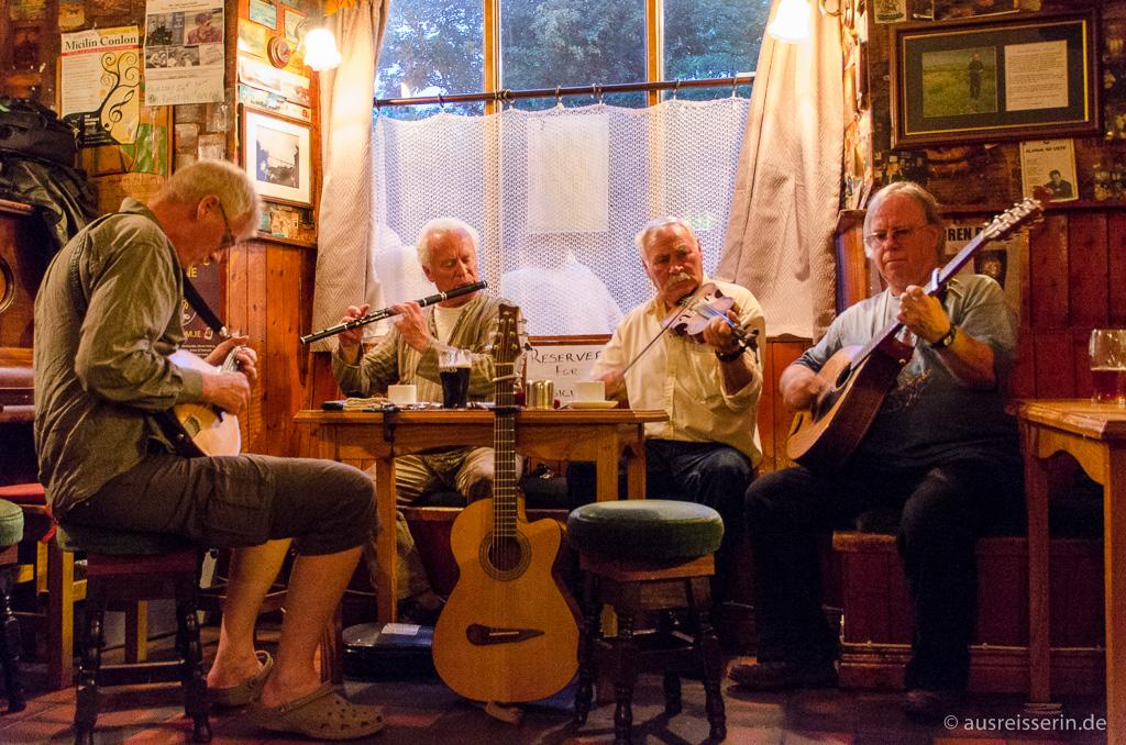 Live-Musik im irischen Pub