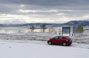 Winterlandschaft in Troms