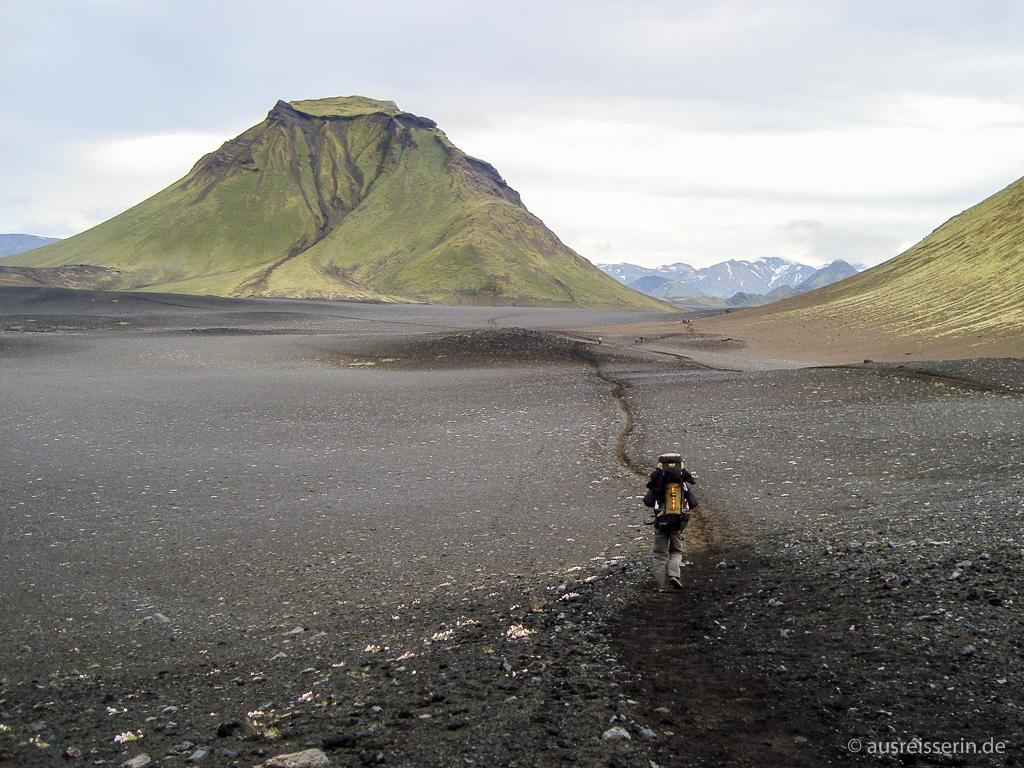 Lavawüste auf Island