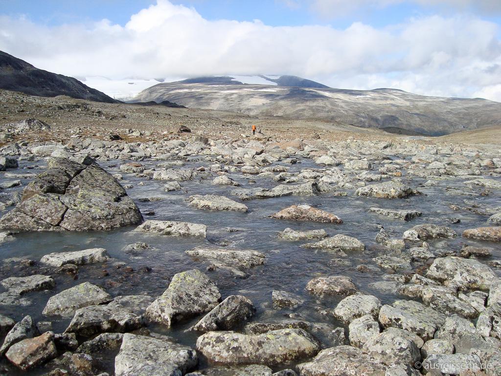 Fluss Skauta und Hochebene Skautflye