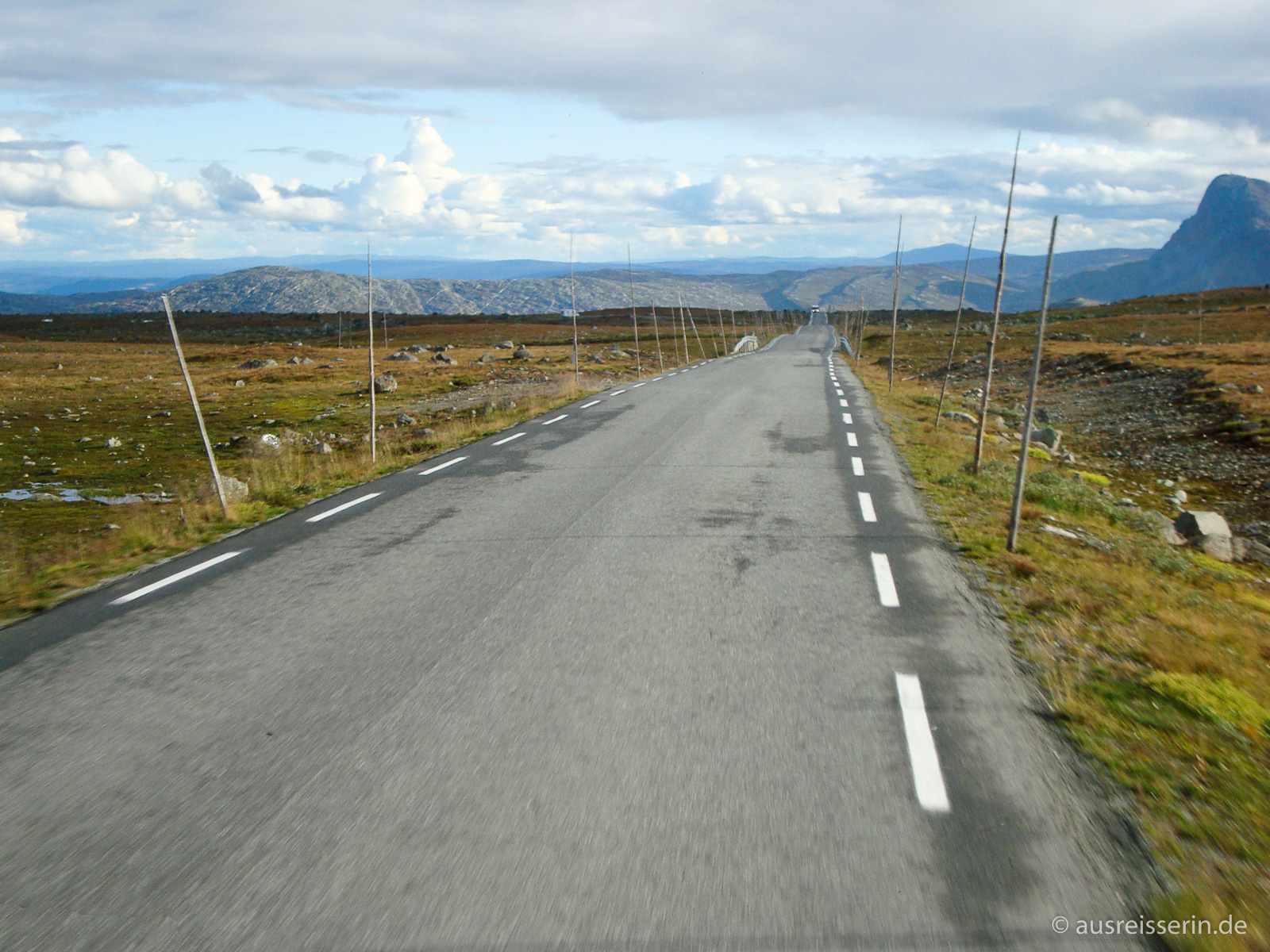 Ausblick entlang der Rv 51