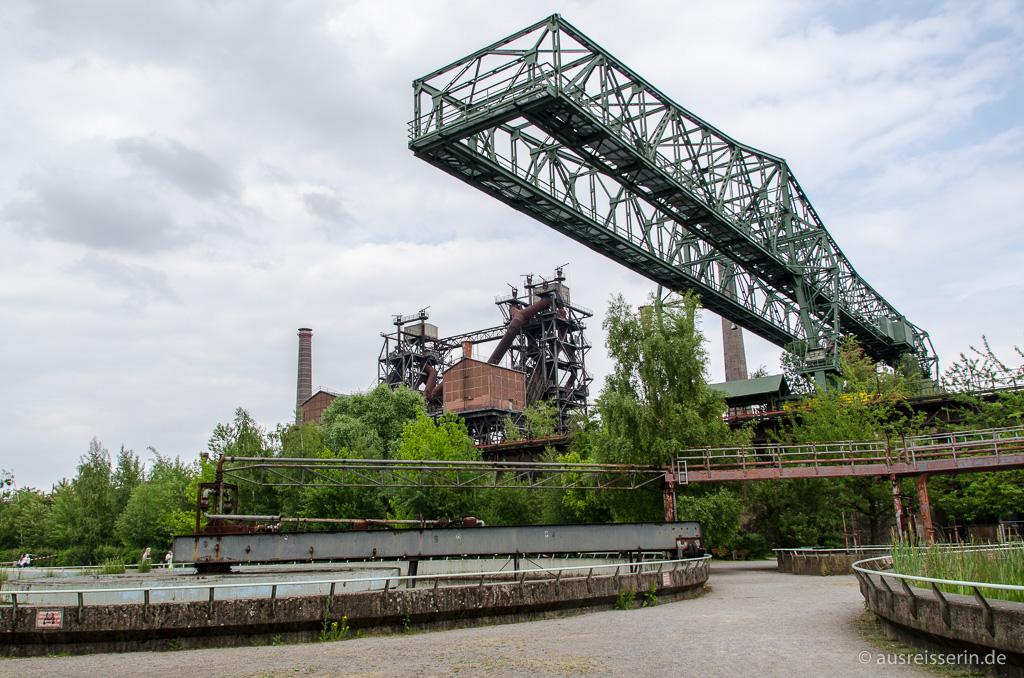 Industriekulisse im Landschaftspark Duisburg-Nord