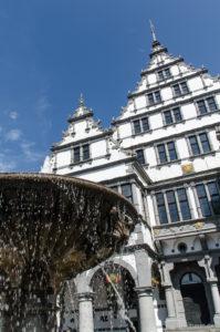 Altes Rathaus am Marktplatz von Paderborn
