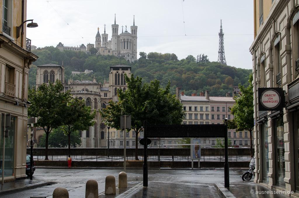 Mein Lieblingsausblick in Lyon.