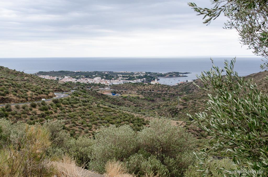 Ausblick auf Cadaqués