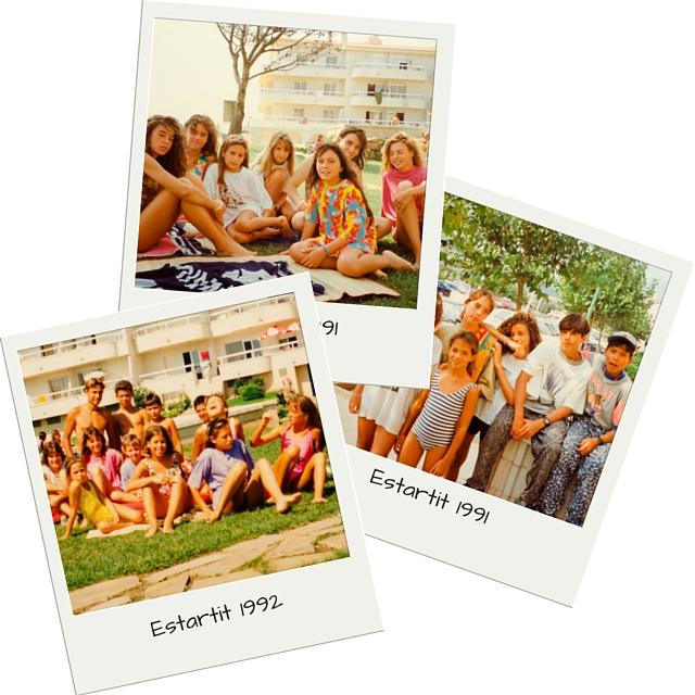 """Fotos von """"damals"""": Estartit-Clique 1991/1992"""