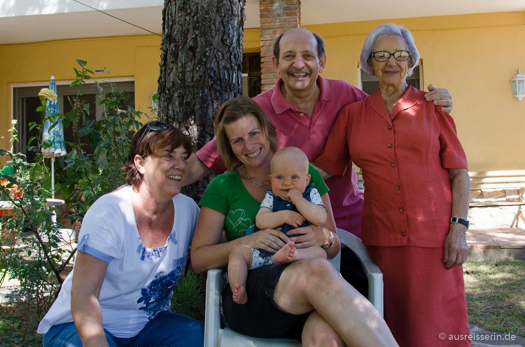 Luis Familie in Montmeló