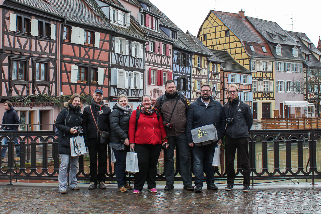 Blogger in Colmar