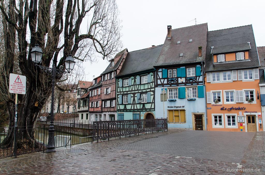 Fachwerkhäuser in Colmar