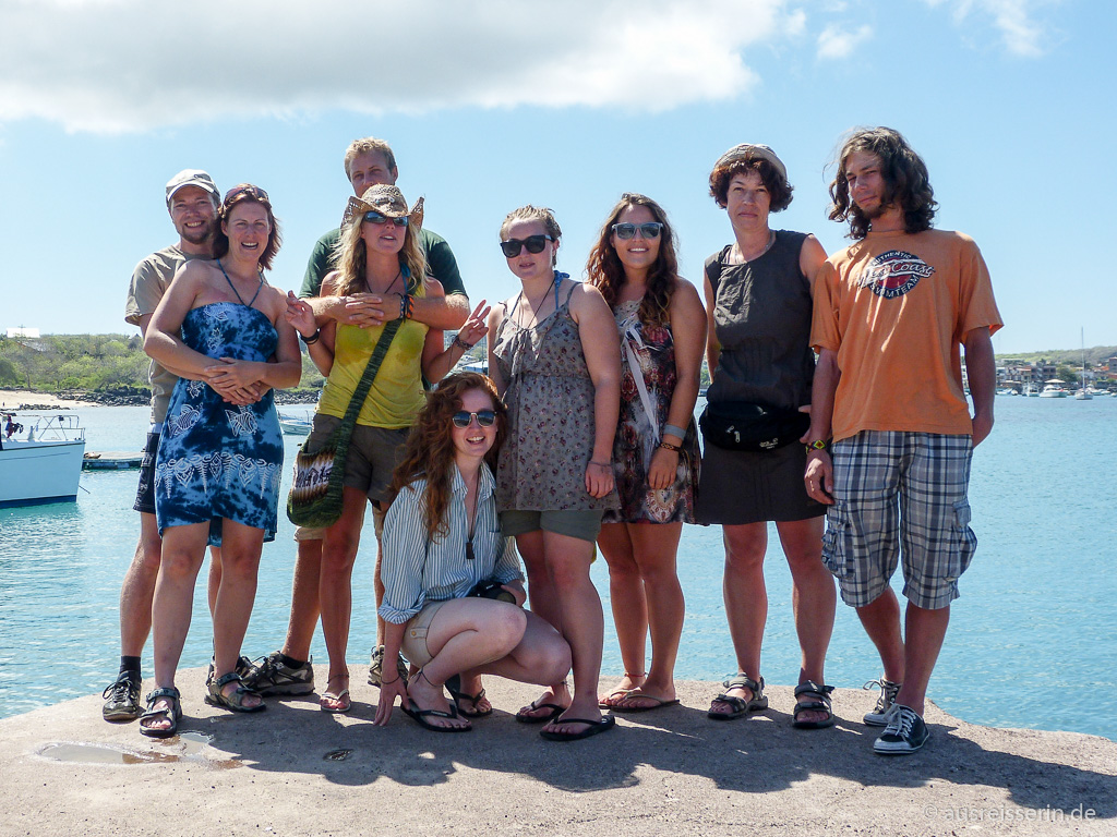 Passagiere der Galápagos Vision