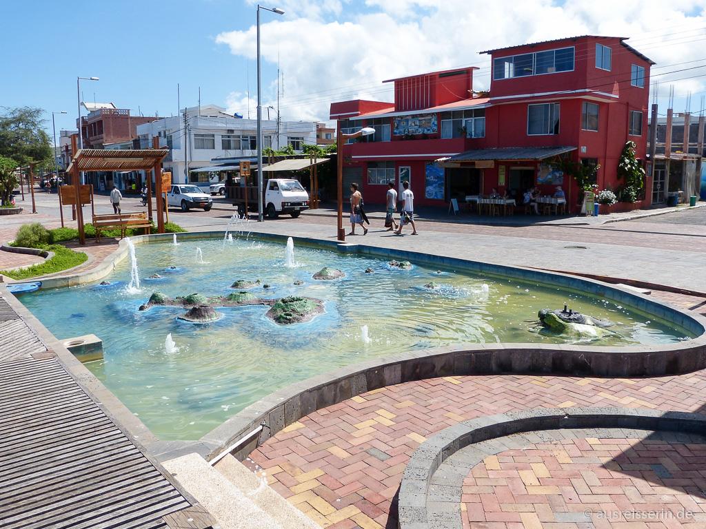 Galápagos-Brunnen auf San Cristóbal