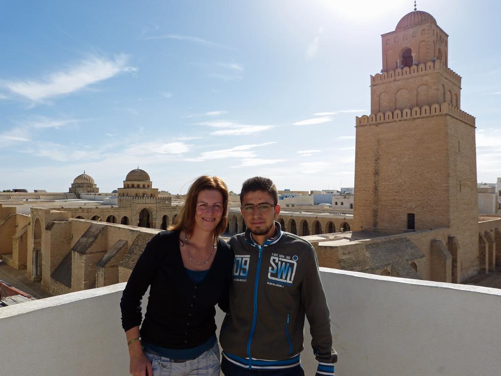 Unser Guide in Kairouan.