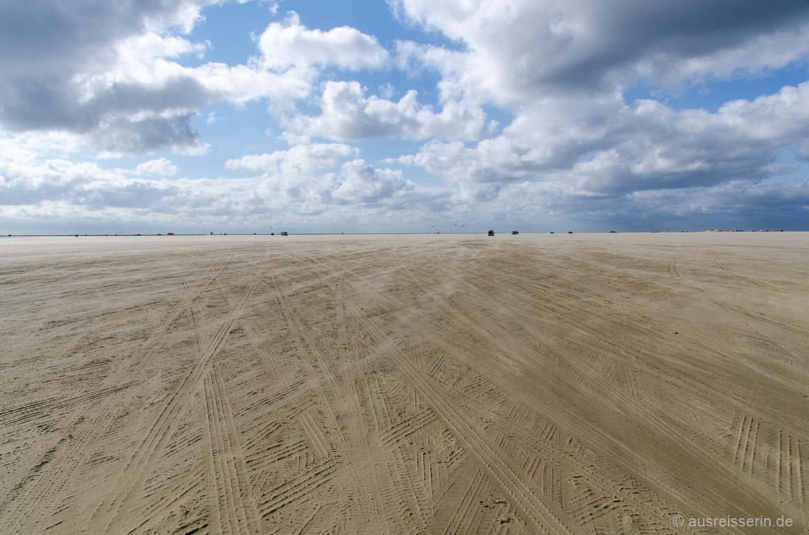 Etwa 4 km breit ist Rømøs Strand.