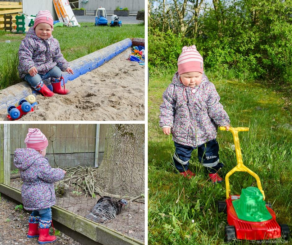Das Skærbæk Familie Camping bietet reichlich Beschäftigung für die kleinen Gäste.