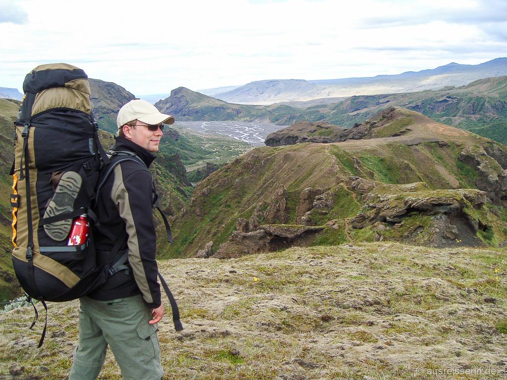 Þórsmörk und das Tal der Krossá