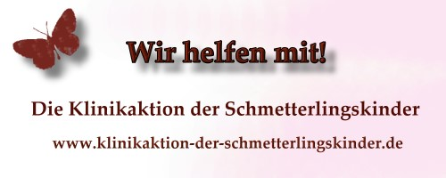 Klinikaktion der Schmetterlingskinder