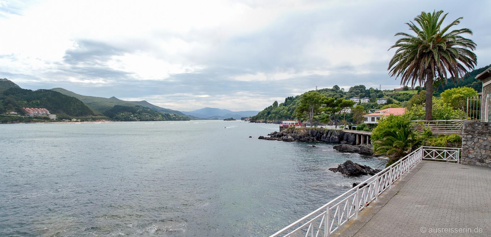 Mündungsgebiet des Río Oka