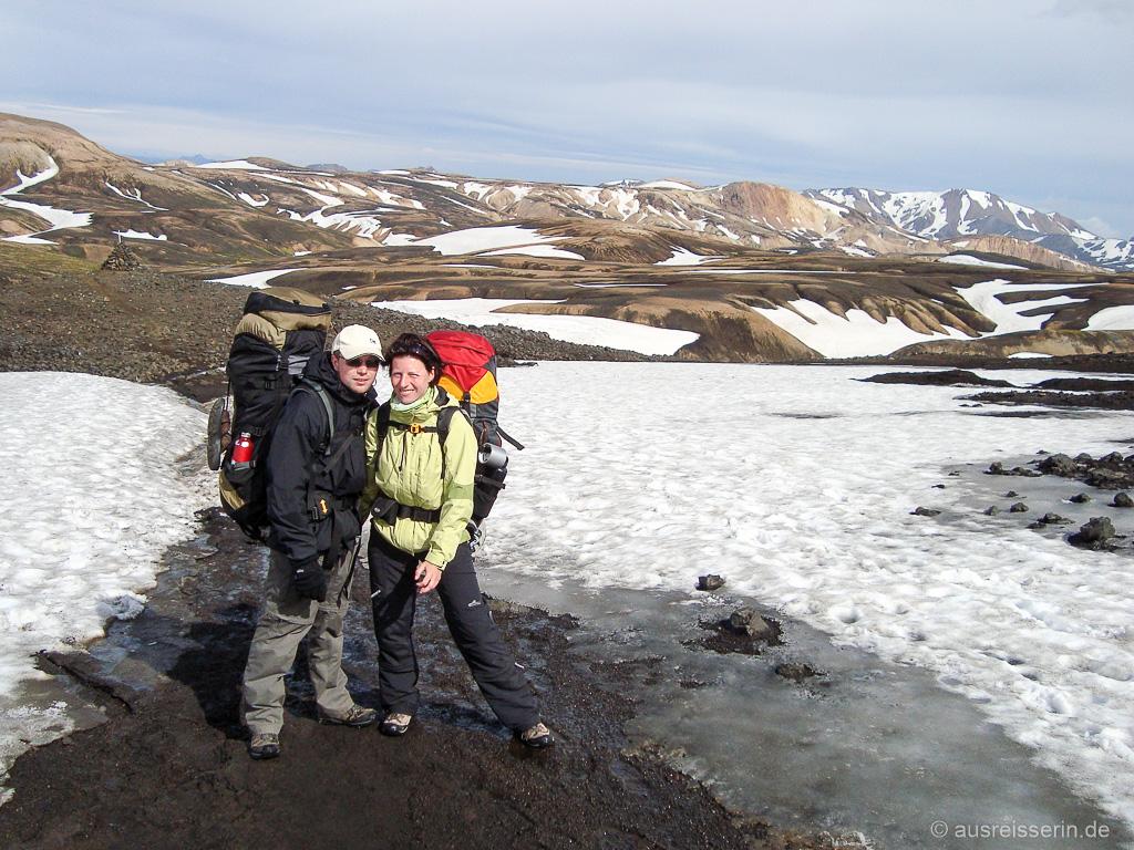 Nicole und Jan im isländischen Hochland
