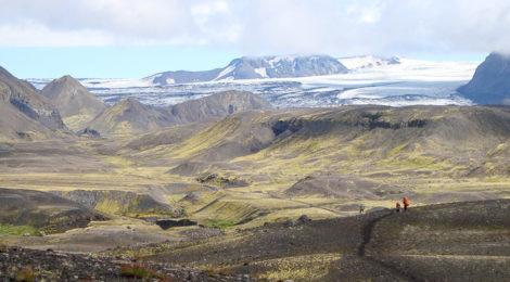 Isländisches Hochland entlang des Laugavegur