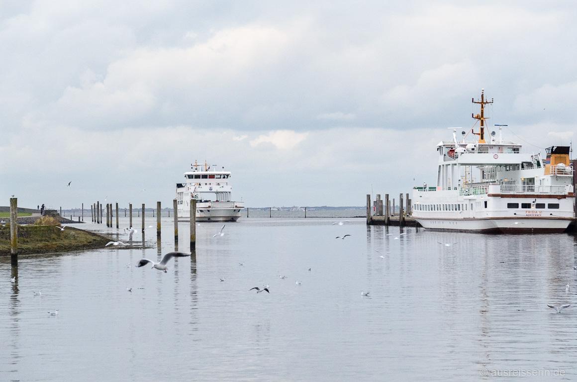 Norderney-Fähre in Norddeich