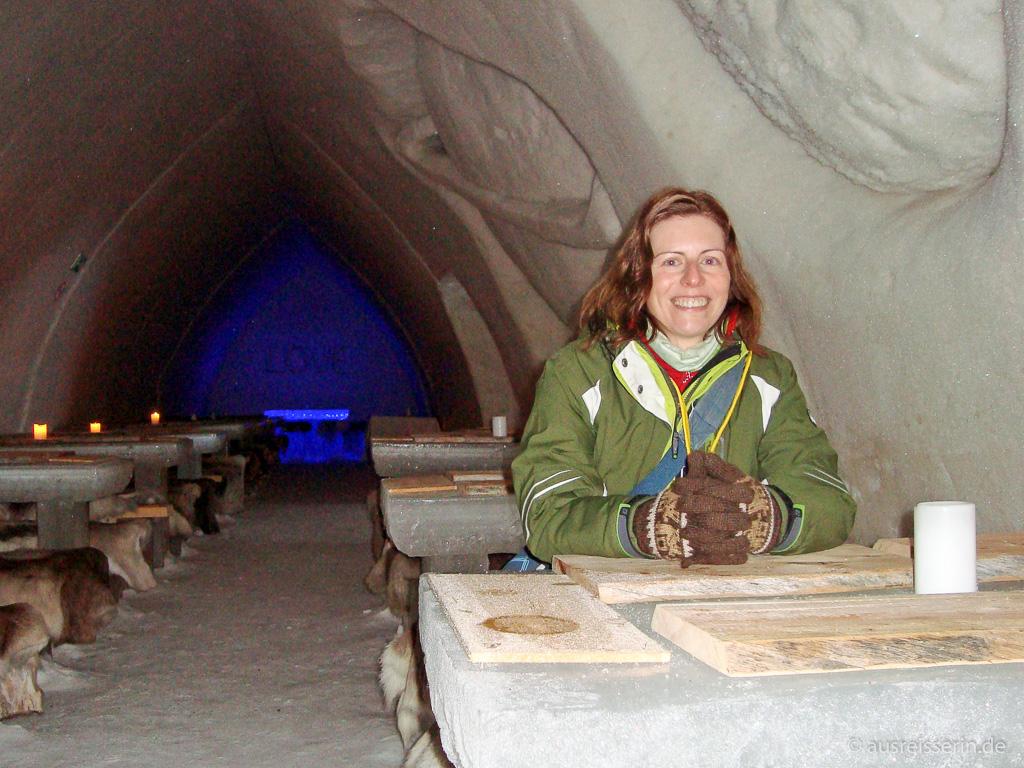 Restaurant des Schneehotel in Rovaniemi