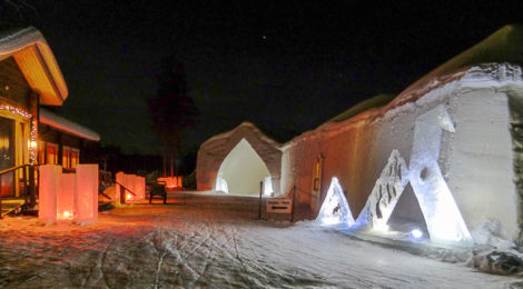Arctic SnowHotel in Rovaniemi