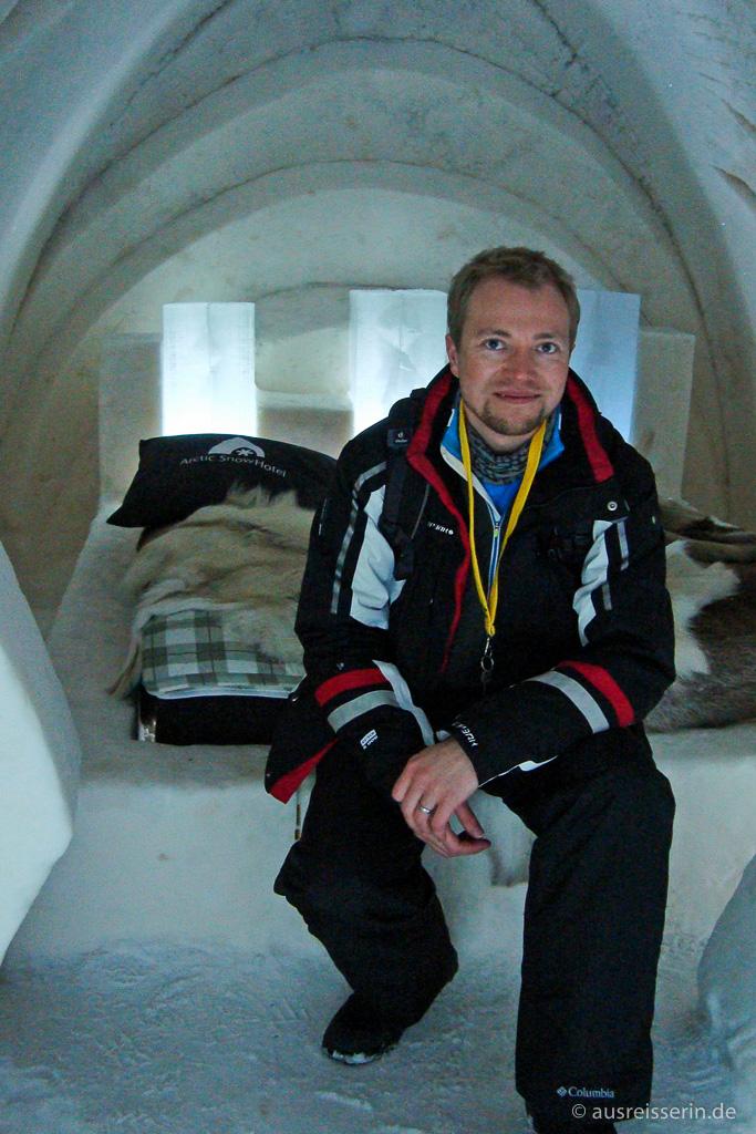 Suite im Arctic SnowHotel in Rovaniemi