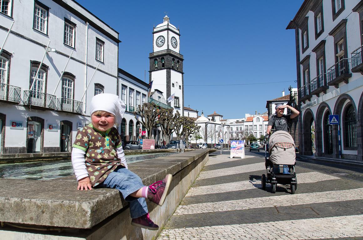 Stadtbummel durch das Inselhauptstädtchen Ponta Delgada
