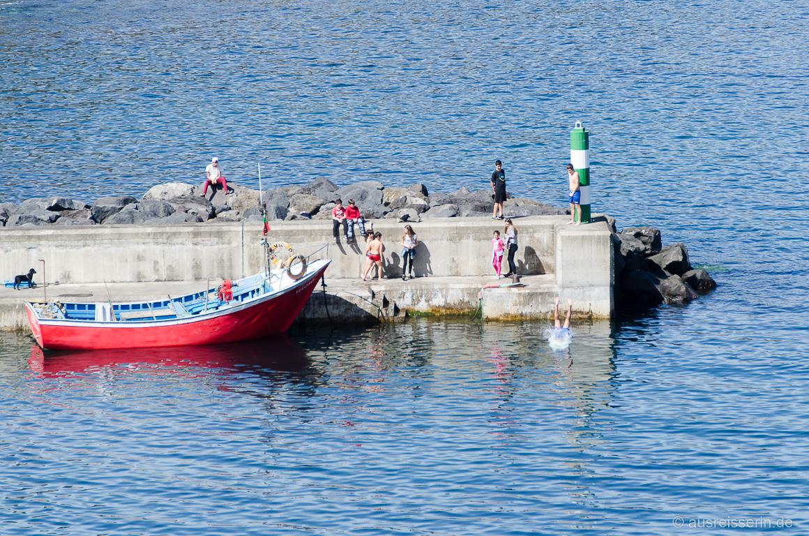 Hafen von Porto Formoso