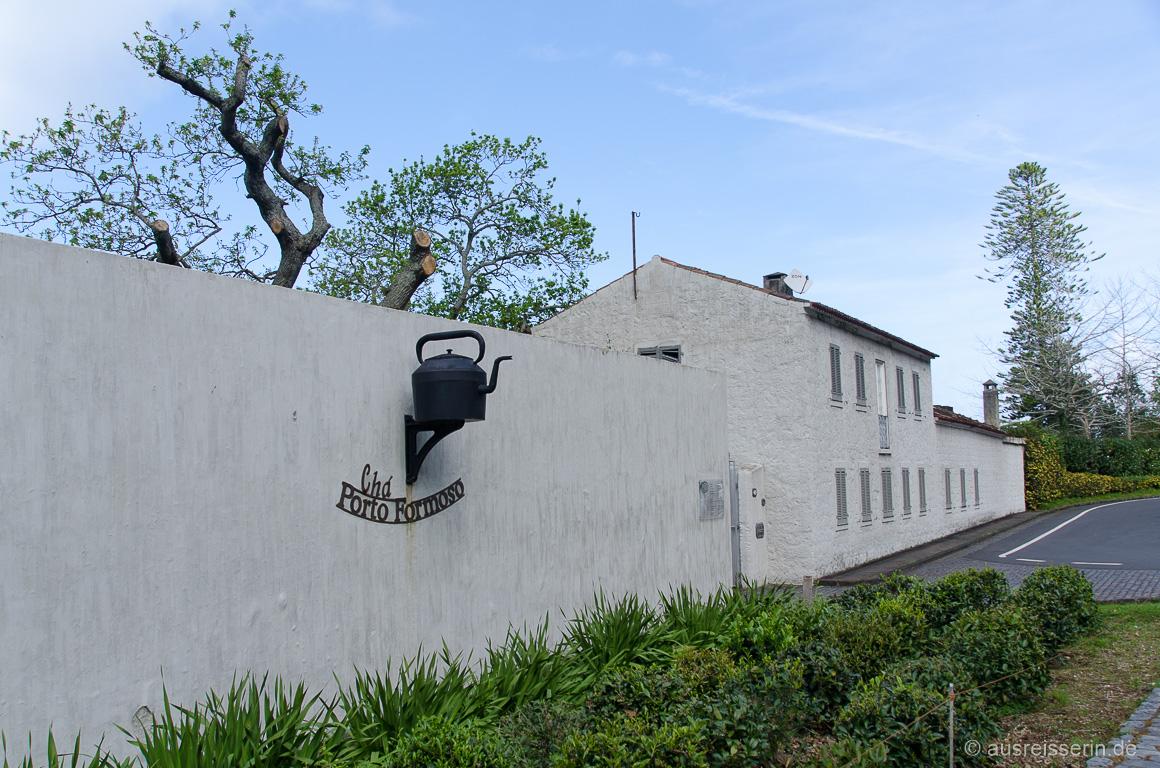 Teeplantage Chá Porto Formoso an der Nordküste von São Miguel