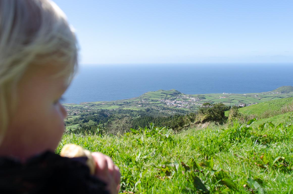Ausblick auf die Nordwestküste São Miguels