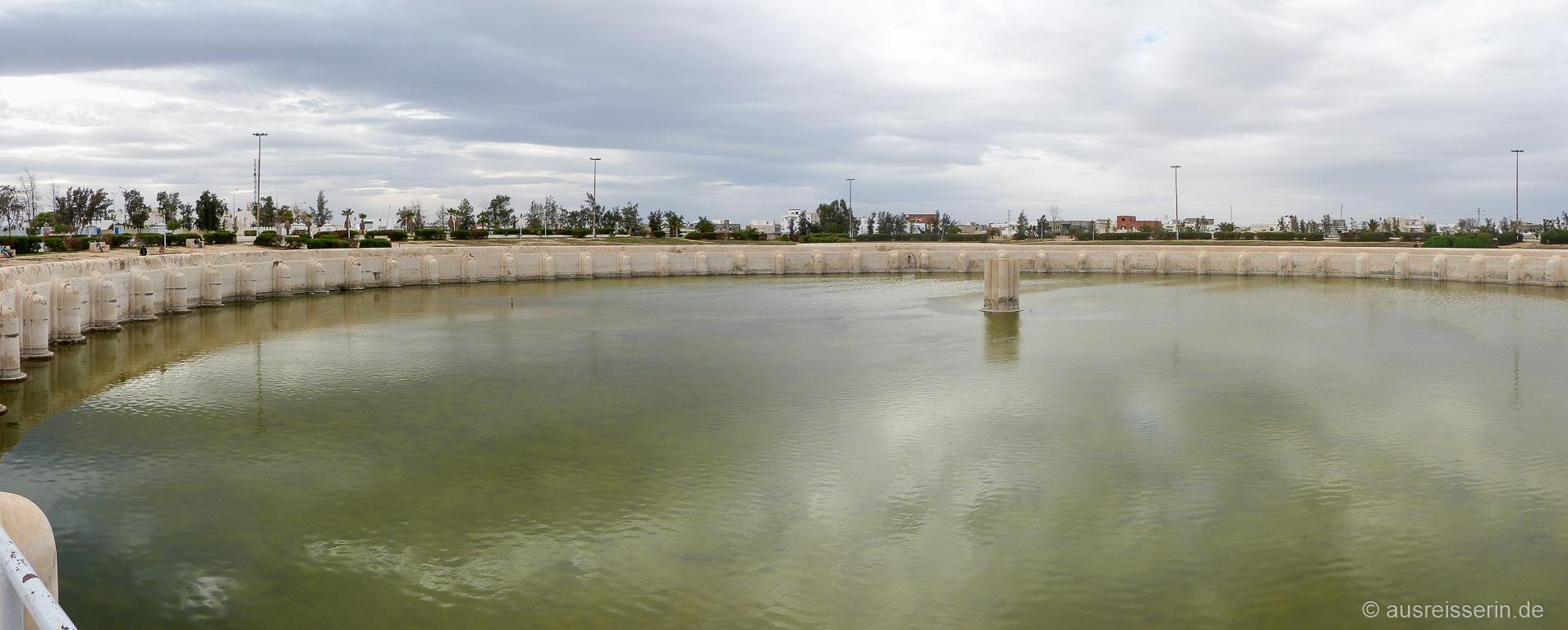 Wasserbecken der Aghlabiden aus dem 9. Jahrhundert