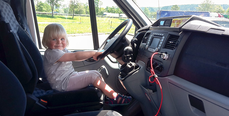Roadtrip mit Kindern