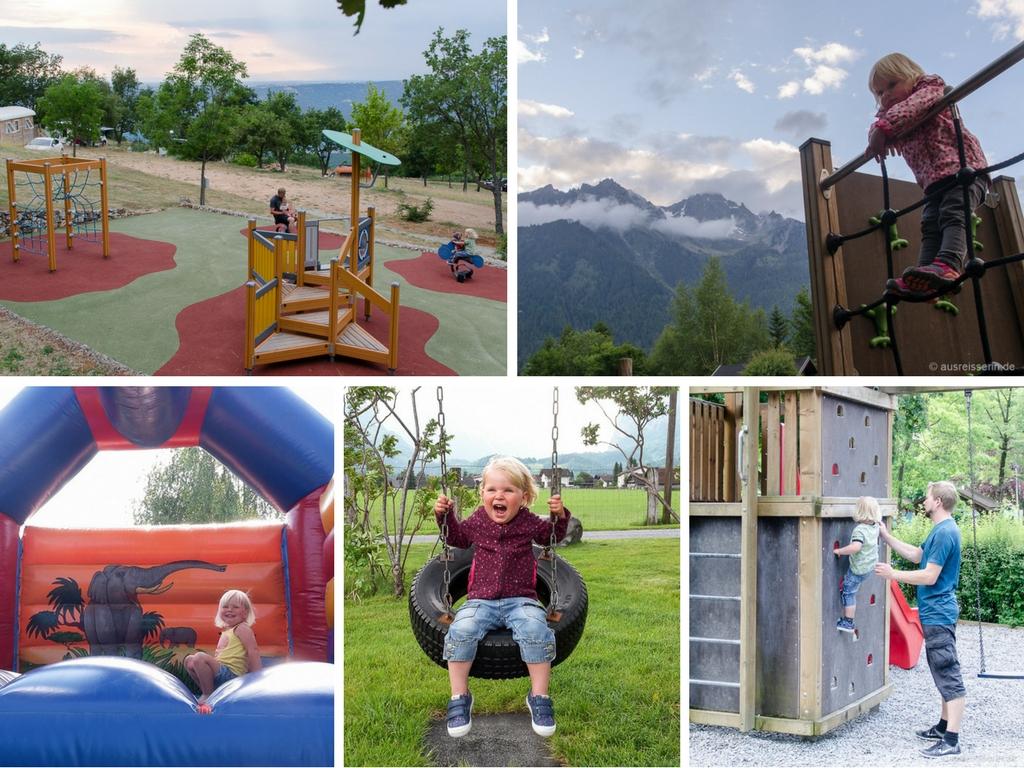 Spielplätze auf Campingplätzen