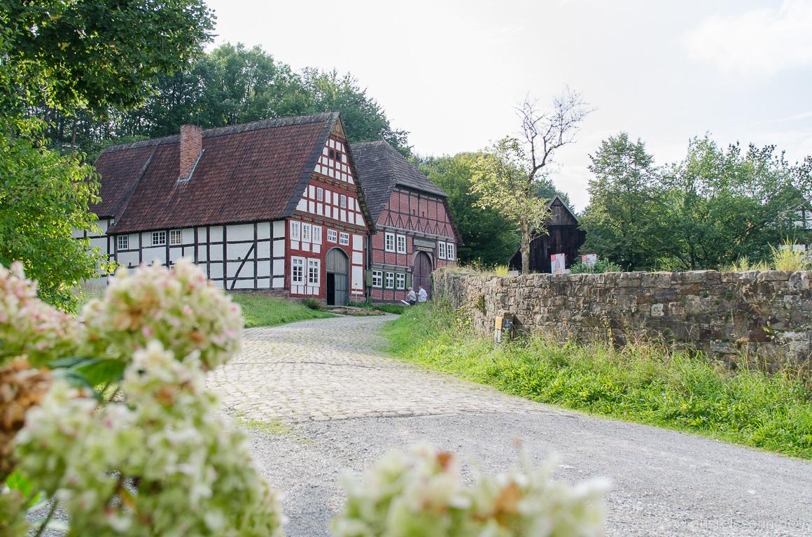 Fachwerkhäuser im Paderborner Dorf