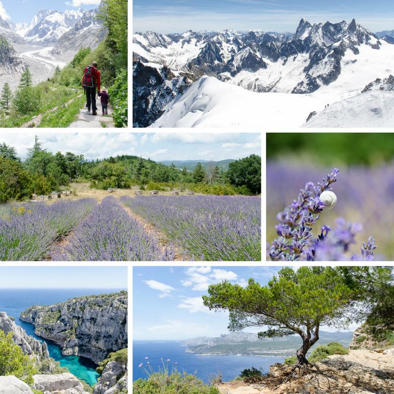 Alpen, Provence, Mittelmeer