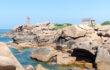Rosa Granitküste, Bretagne, Frankreich