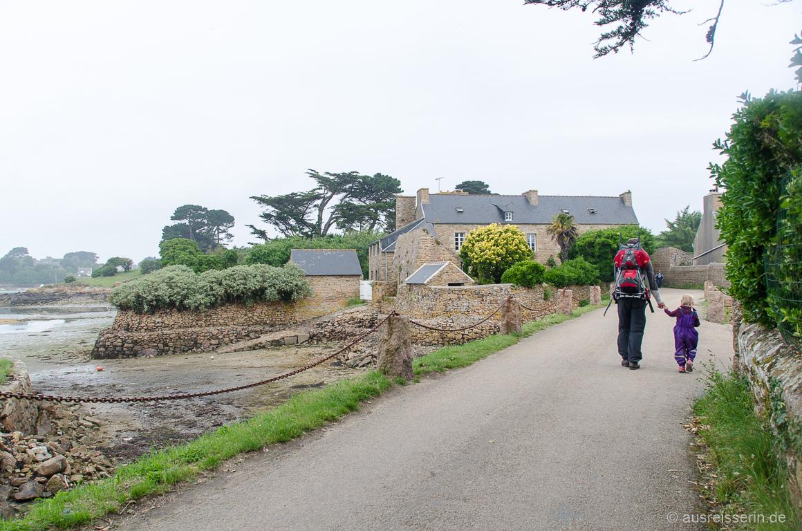 Wandern auf der Île de Bréhat