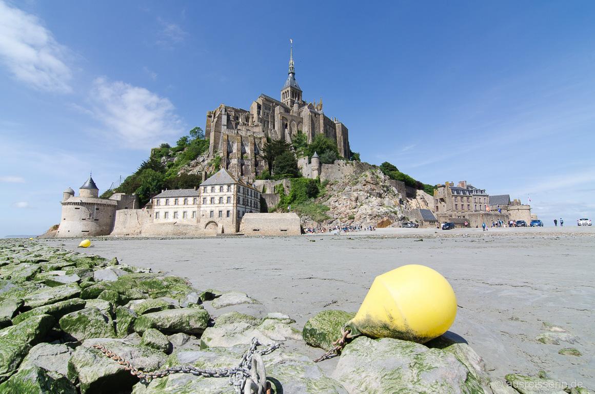 Mont-Saint-Michel mal aus einer anderen Perspektive