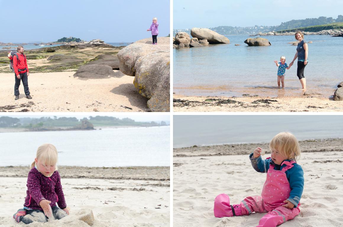 Küstenwandern in der Bretagne