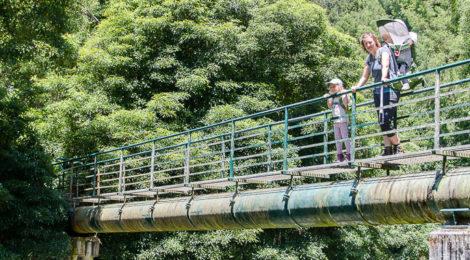 Wandern mit Kindern auf den Azoren